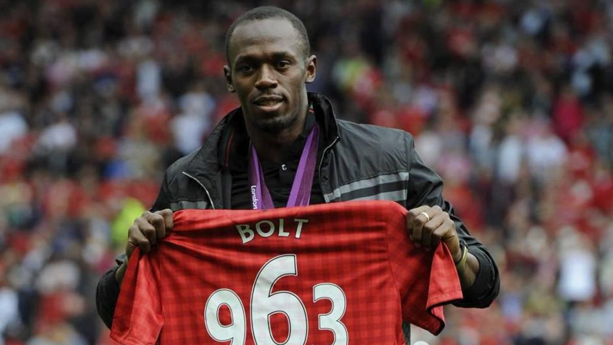 Bolt, convocado para juego de leyendas del ManU