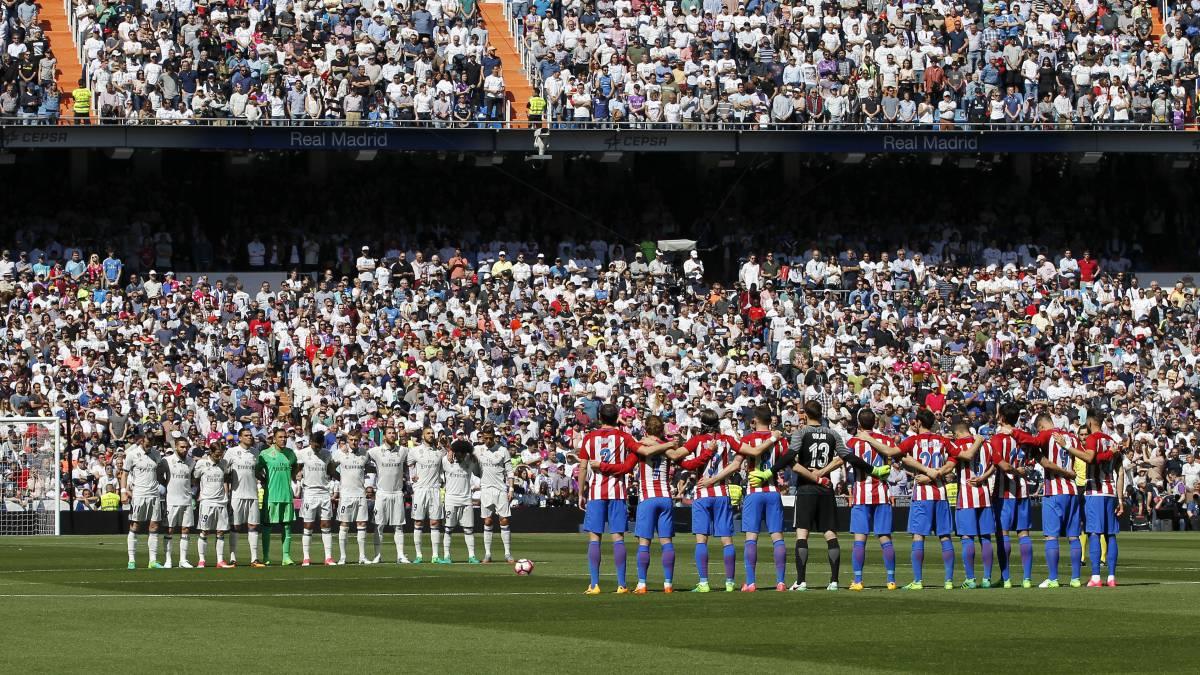 Un minuto de silencio en La Liga por atentado en Barcelona