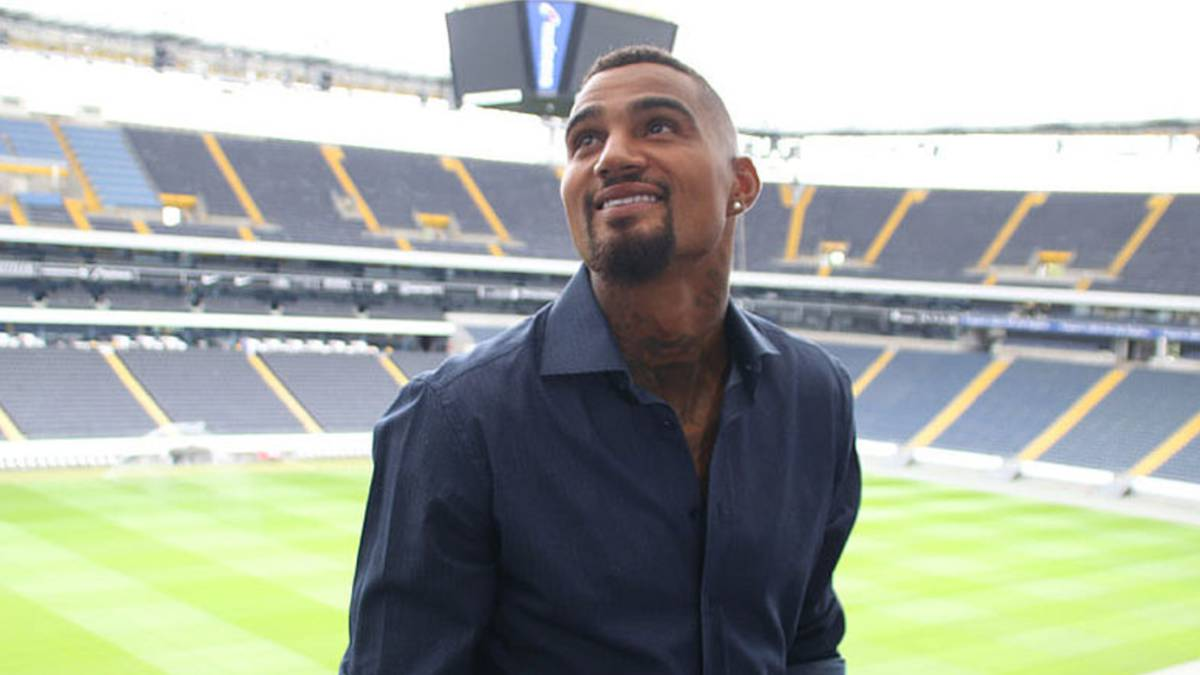 Kevin-Prince Boateng signs for Eintracht Frankfurt