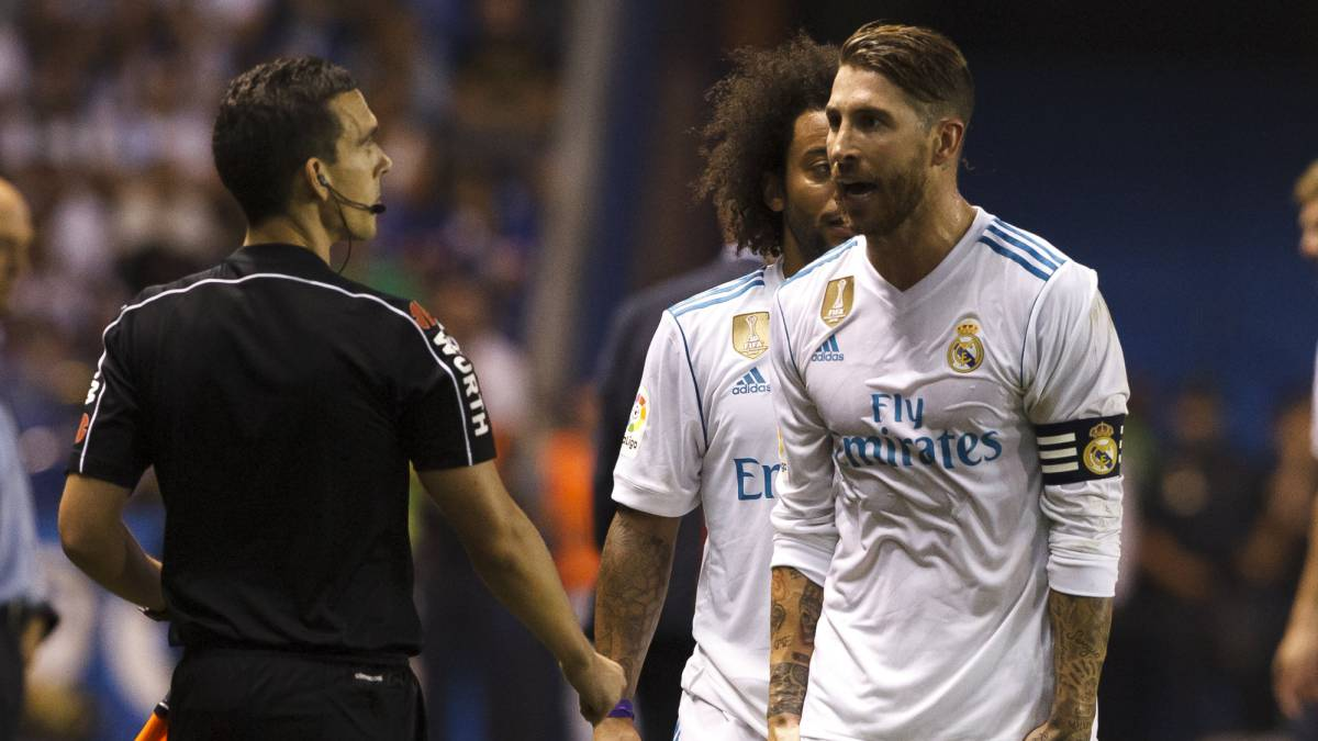 Real Madrid appeal second booking in Ramos sending-off