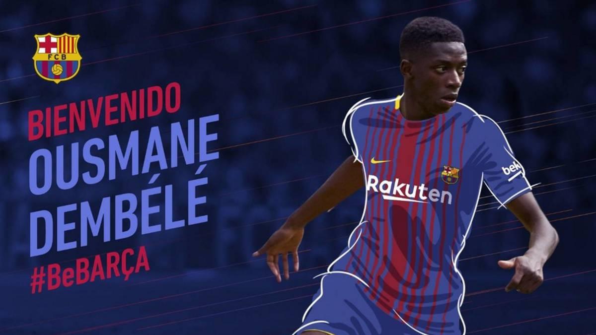 Barcelona pagará al BVB Dortmund más de 3 mmdp por Dembelé