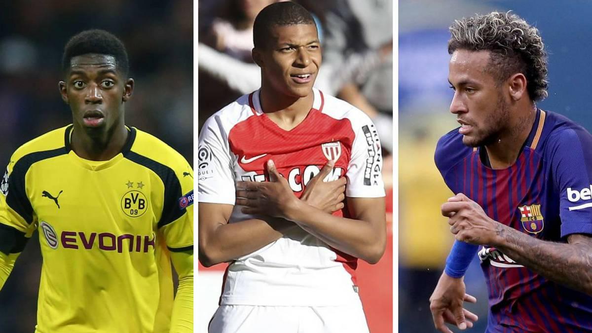 3d0660f4f Los 10 fichajes más caros de la historia  Neymar
