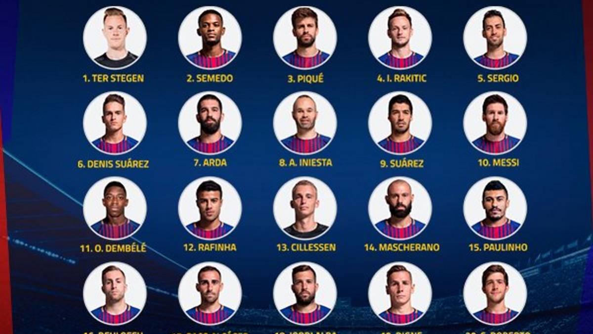 fb5e0f7d4247d El Barça anuncia sus dorsales definitivos para la temporada - AS.com