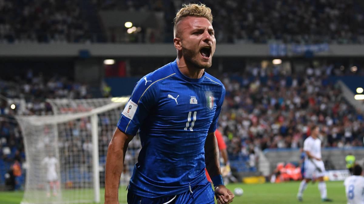Mundial 2018 | Italia 1 - Israel 0: Immobile resucita a Italia - AS.com