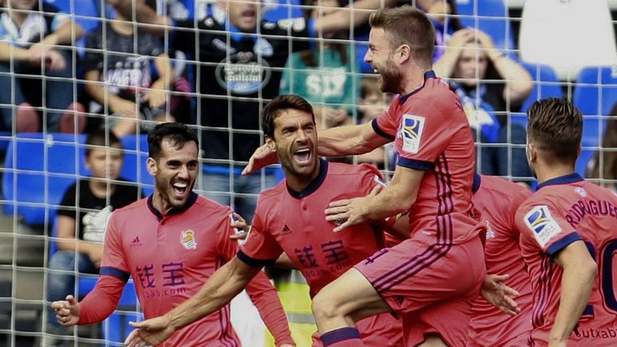 Real Sociedad de Carlos Vela, al acecho del Barcelona
