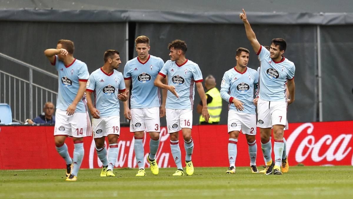 Celta derrotó a Alavés 1-0 con gol de Maxi Gómez