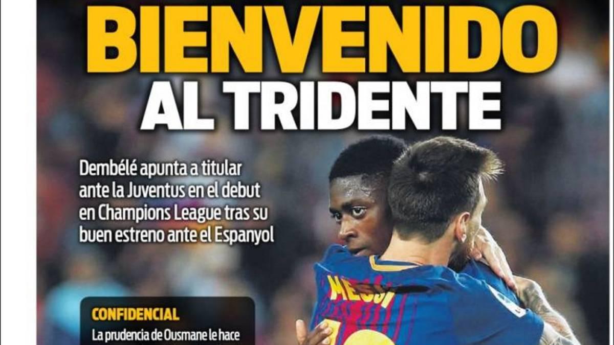 FC Barcelona y Juventus chocan en Champions League