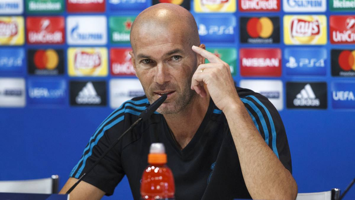 Real Madrid boss Zidane