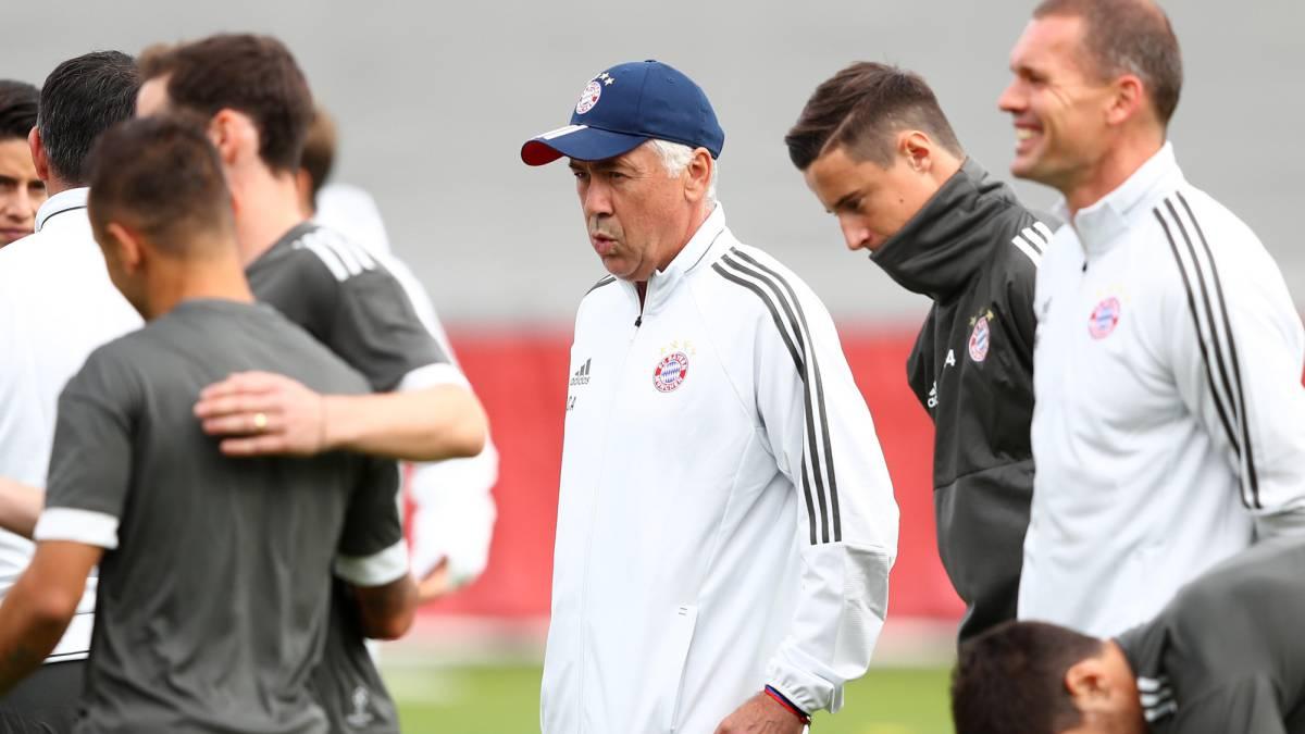 Carlo Ancelotti podría dejar el Bayern Múnich en enero