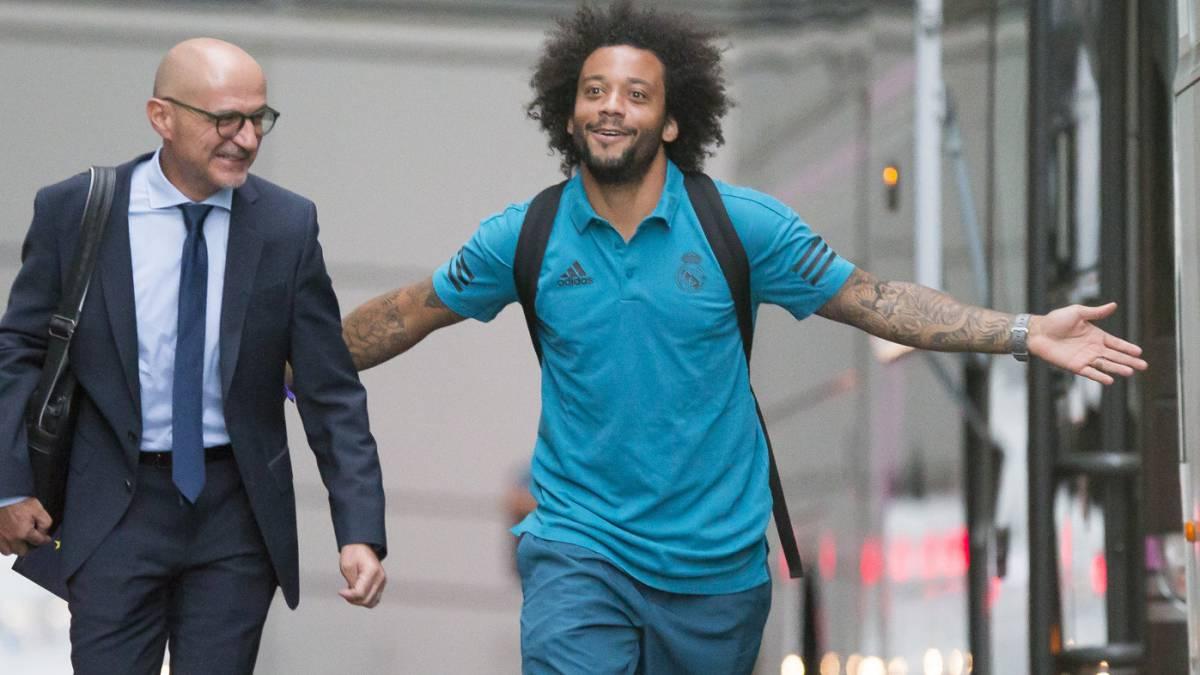 Marcelo amplía su contrato con el Real Madrid hasta junio 2022