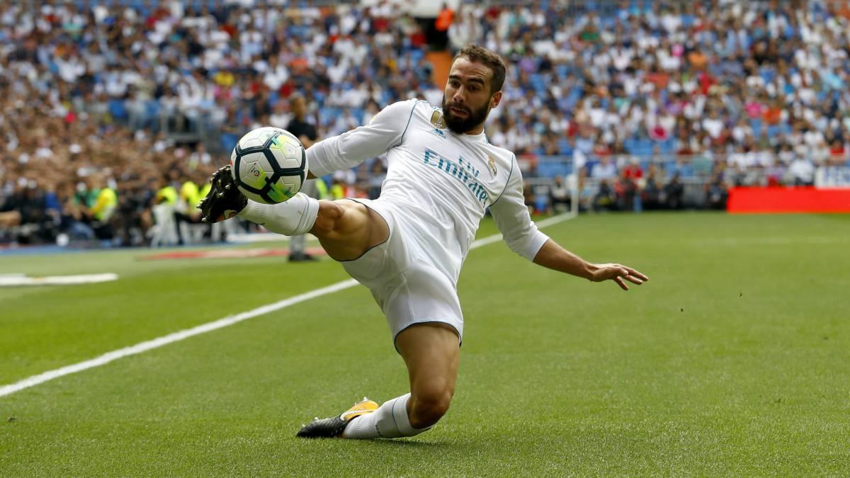 Dani Carvajal Tops Zidanes Most Used List At Real Madrid