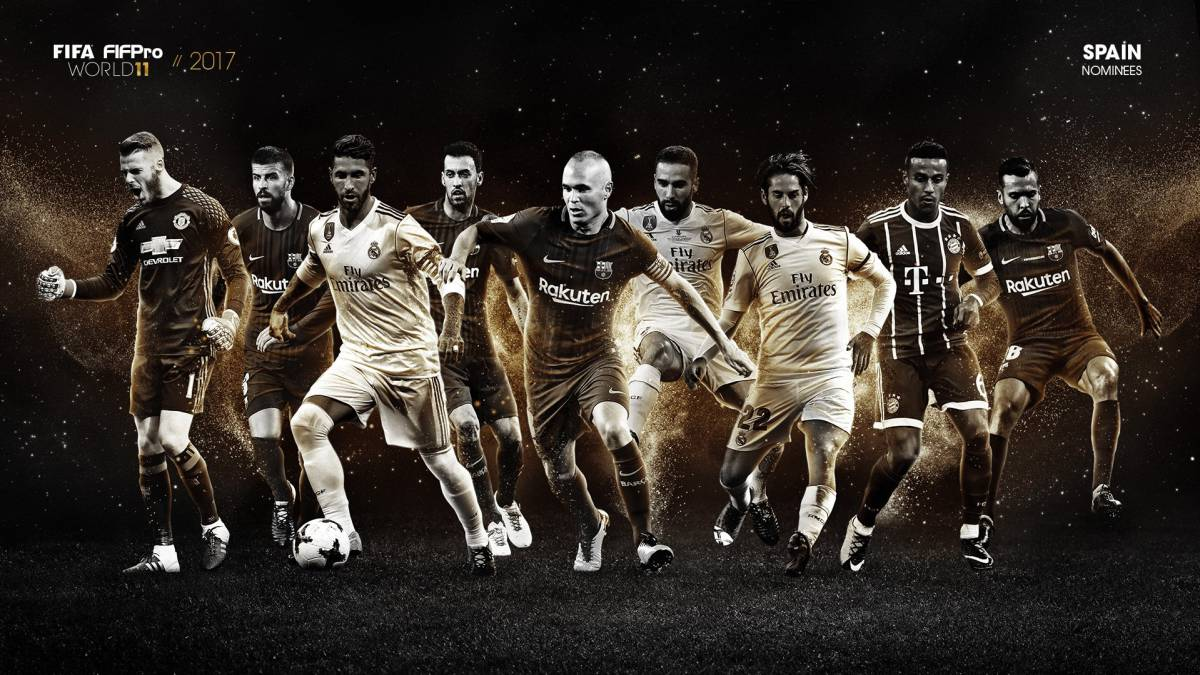 Prem stars make shortlist for FIFA Team of the Year