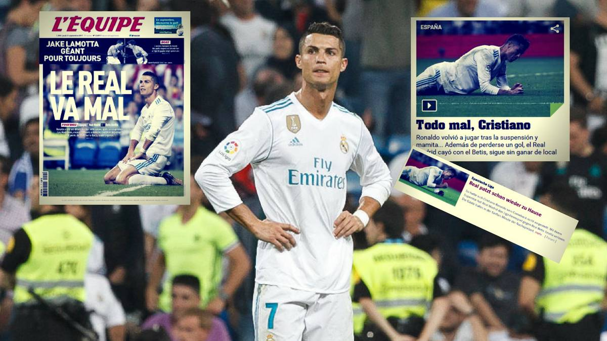 Real Madrid Suffer Shock Defeat on Ronaldo Return