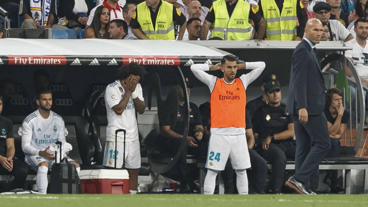 Marcelo será baja en el Real Madrid por lesión