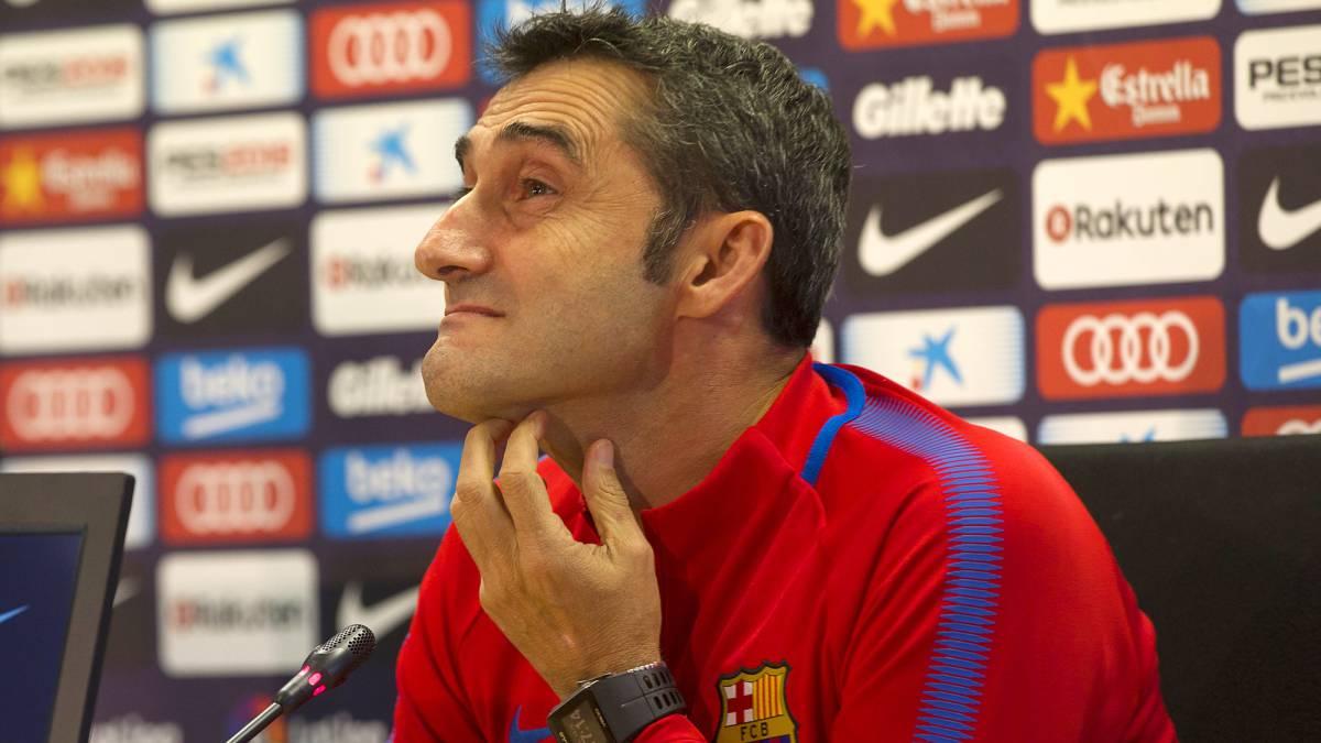 Valverde descartó rotar a Messi en el Barcelona
