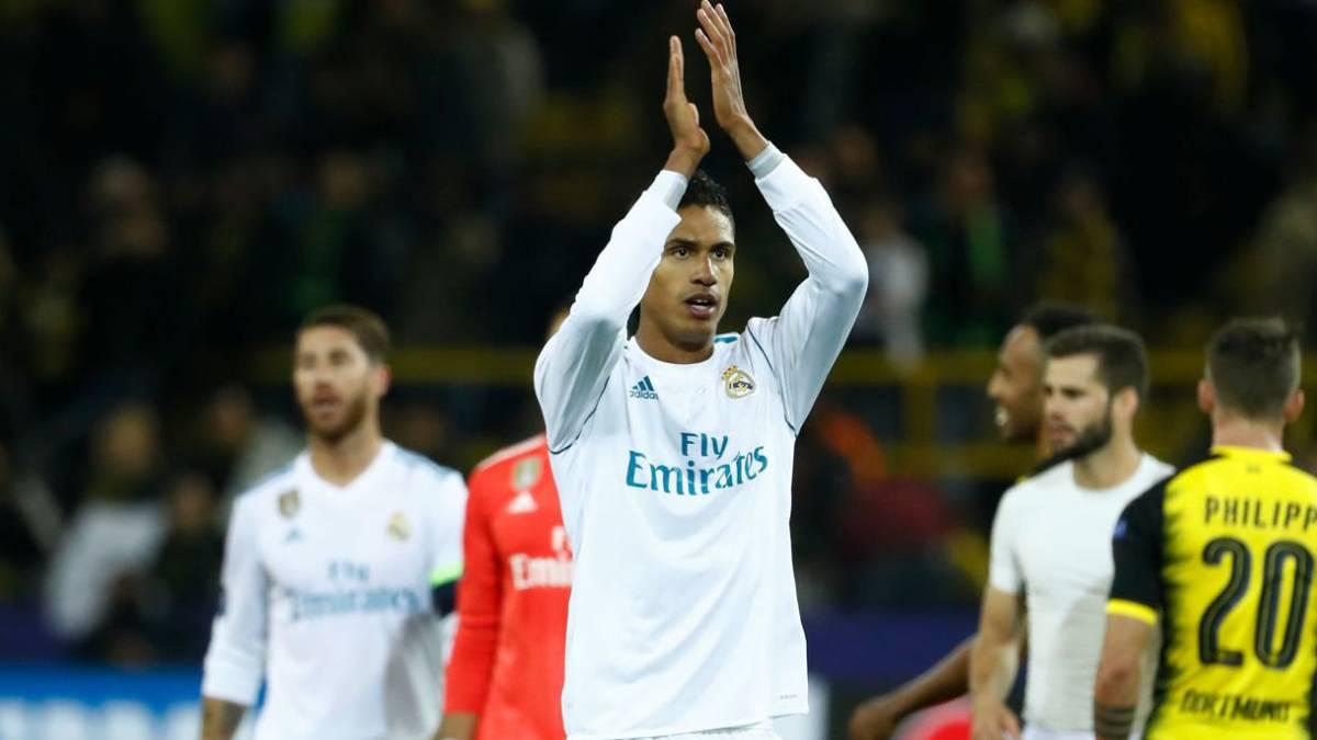Raphael Varane renovó con el Real Madrid hasta 2022