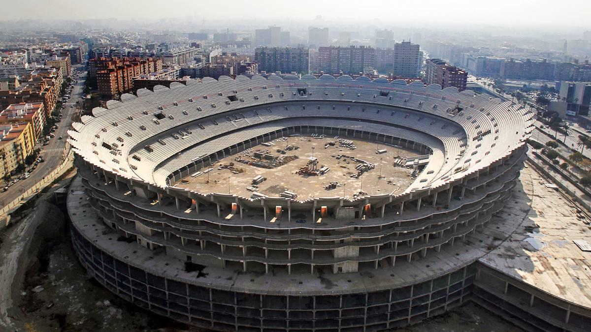 El Valencia anuncia que inicia trámites para reanudar el estadio ...