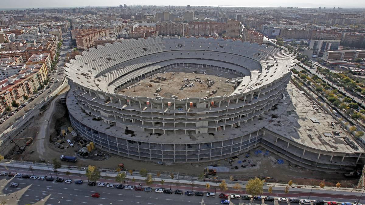 Proyecto Nuevo Mestalla: óptima experiencia del aficionado - AS.com
