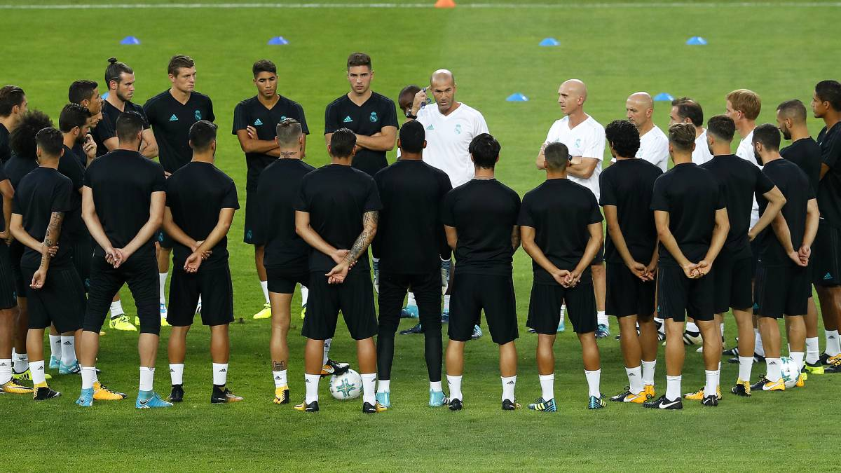 La cruz de Zidane: la mitad de la plantilla ya se ha lesionado - AS.com
