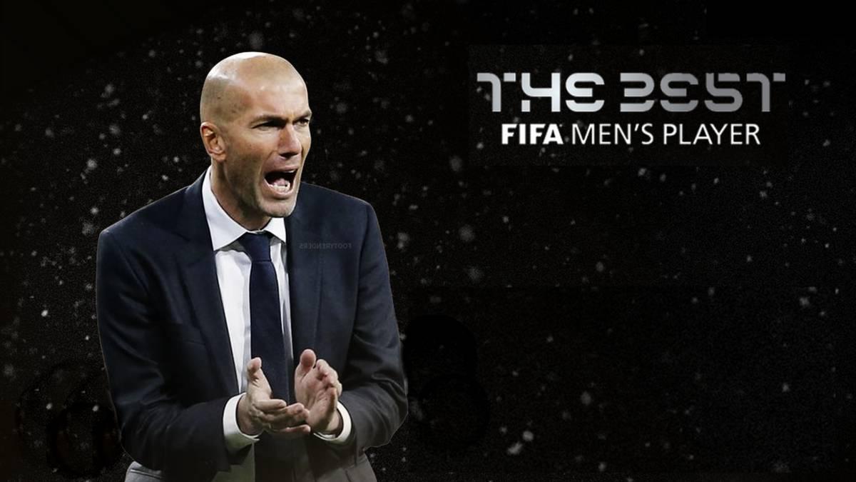 Zinedine Zidane fue elegido el mejor entrenador — The Best