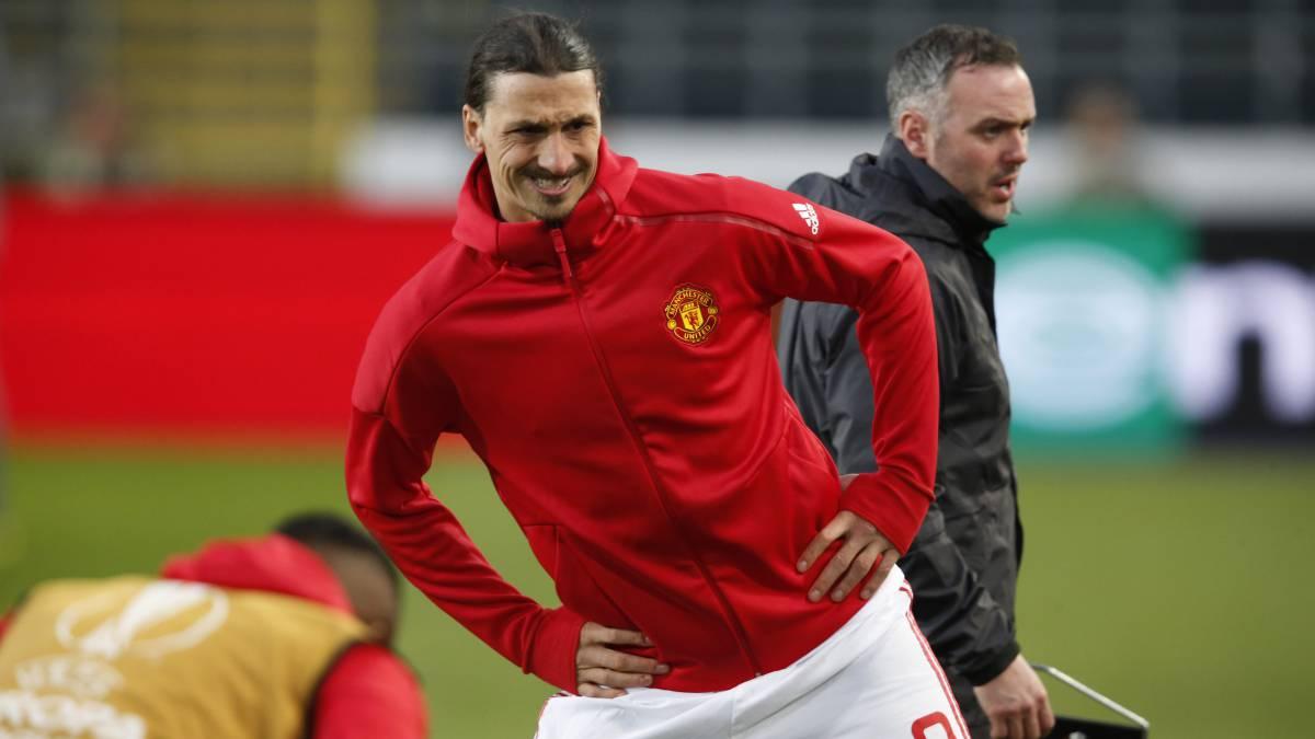Ibrahimovic ya palpita su regreso a las canchas — Manchester United