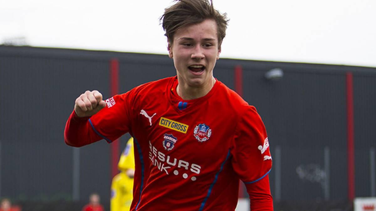 Bayern Munich sign Man Utd target and Swedish wonderkid Andersson