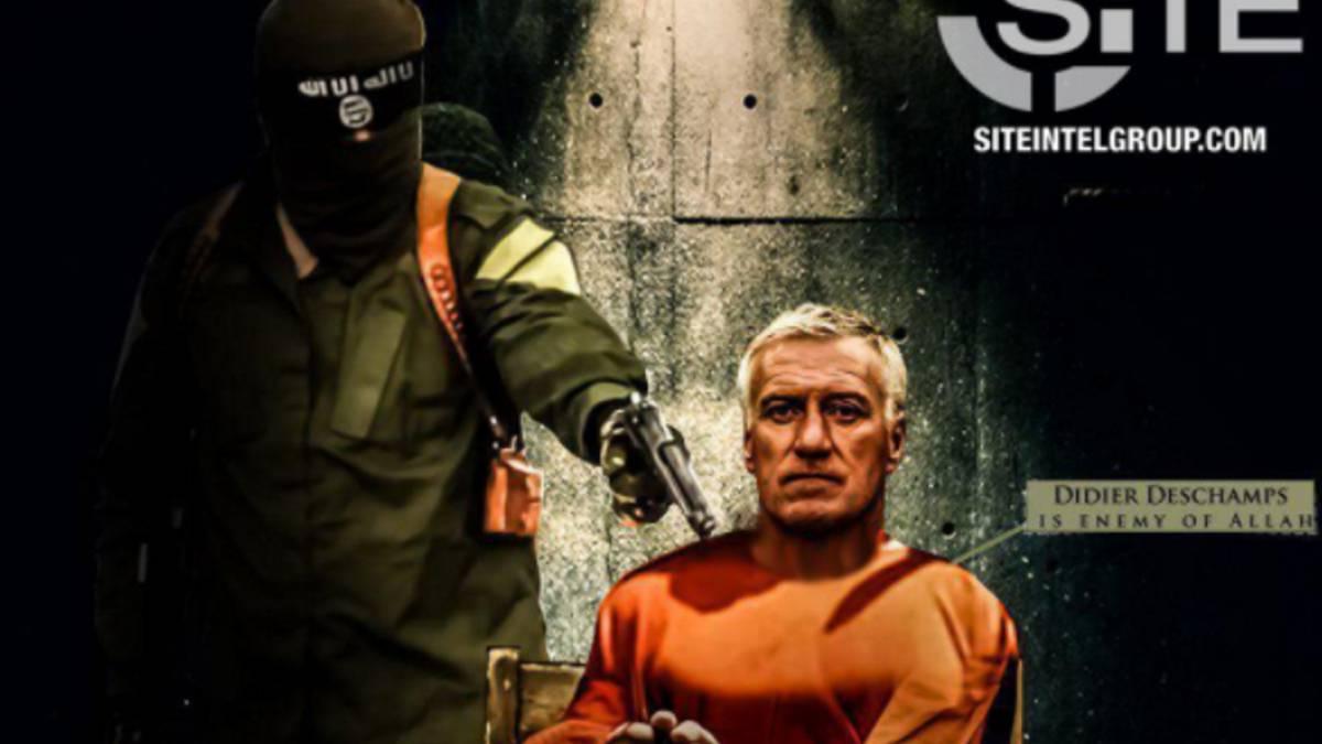 ISIS usa imagen de Didier Deschamps como nueva amenaza para el mundial