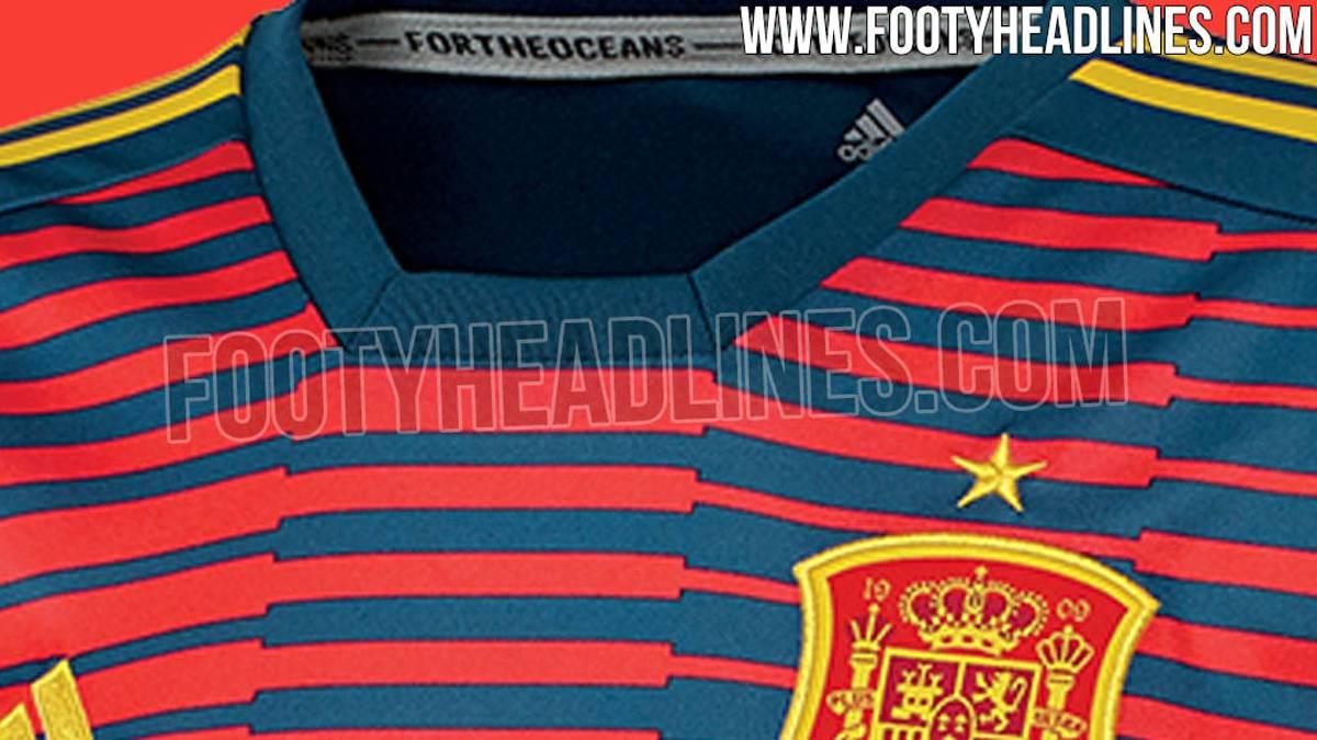 de425d9b4a44f Filtran la posible camiseta de España para el Mundial 2018 - AS USA