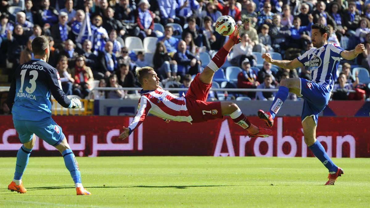 Thomas le dio el triunfo sobre el final a Atlético Madrid por la Liga