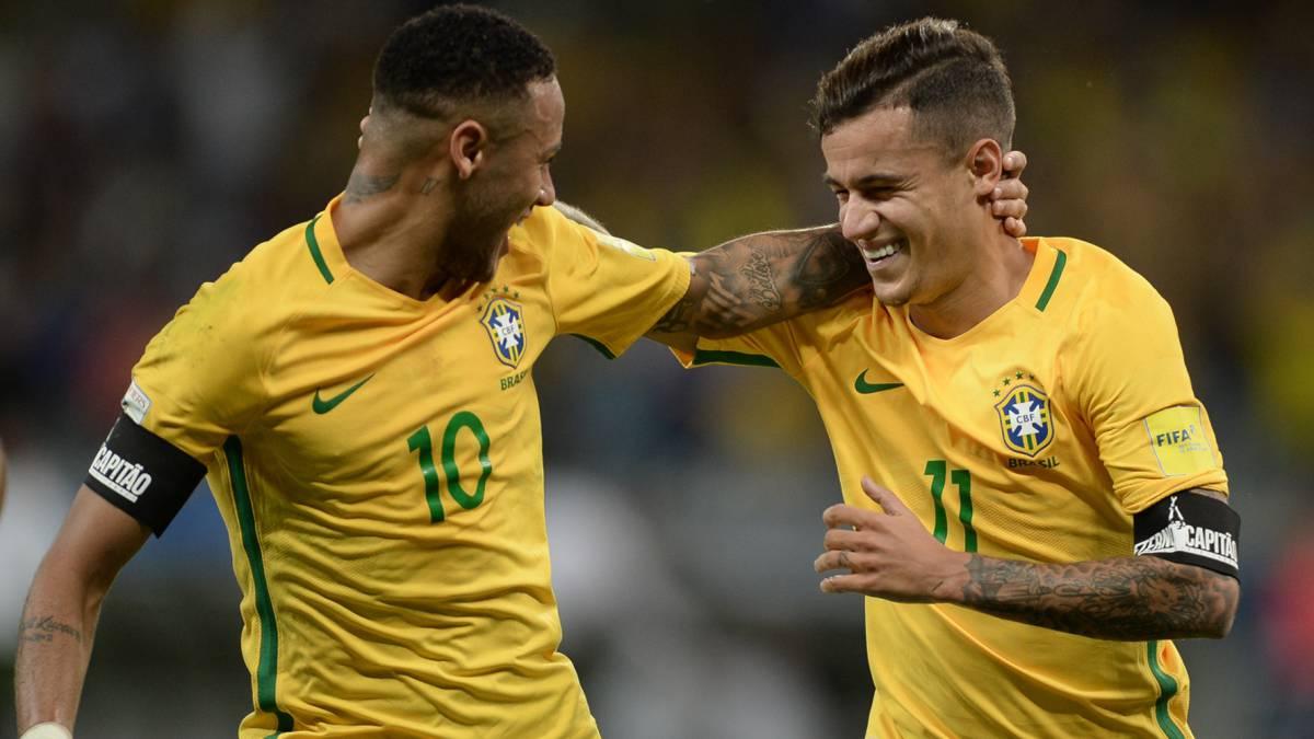 Resultado de imagen para neymar brasil 2017