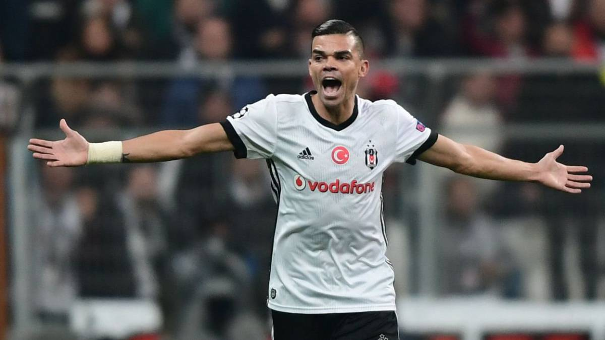Besiktas defender Pepe takes fresh aim at Real Madrid fans
