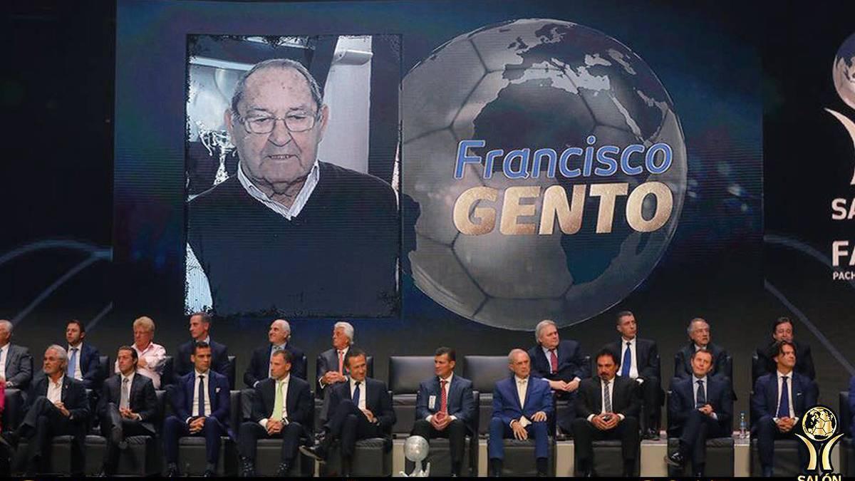 Gento nuevo miembro del sal³n de la fama de la FIFA AS