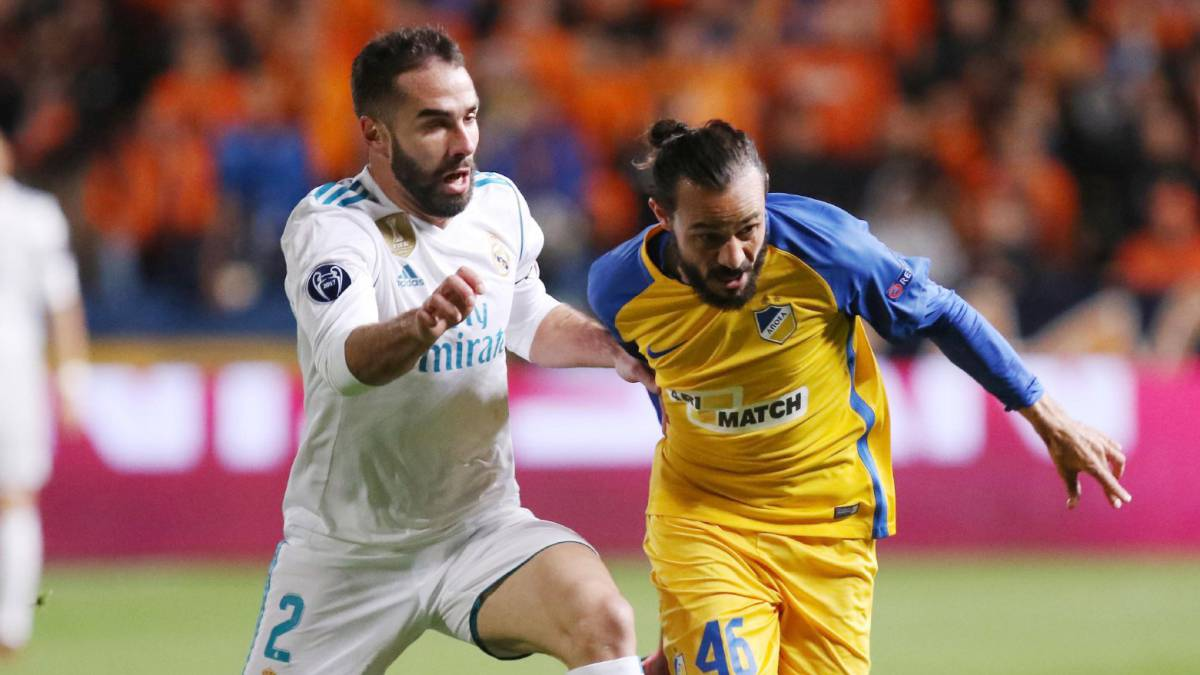 UEFA abre expediente contra Dani Carvajal