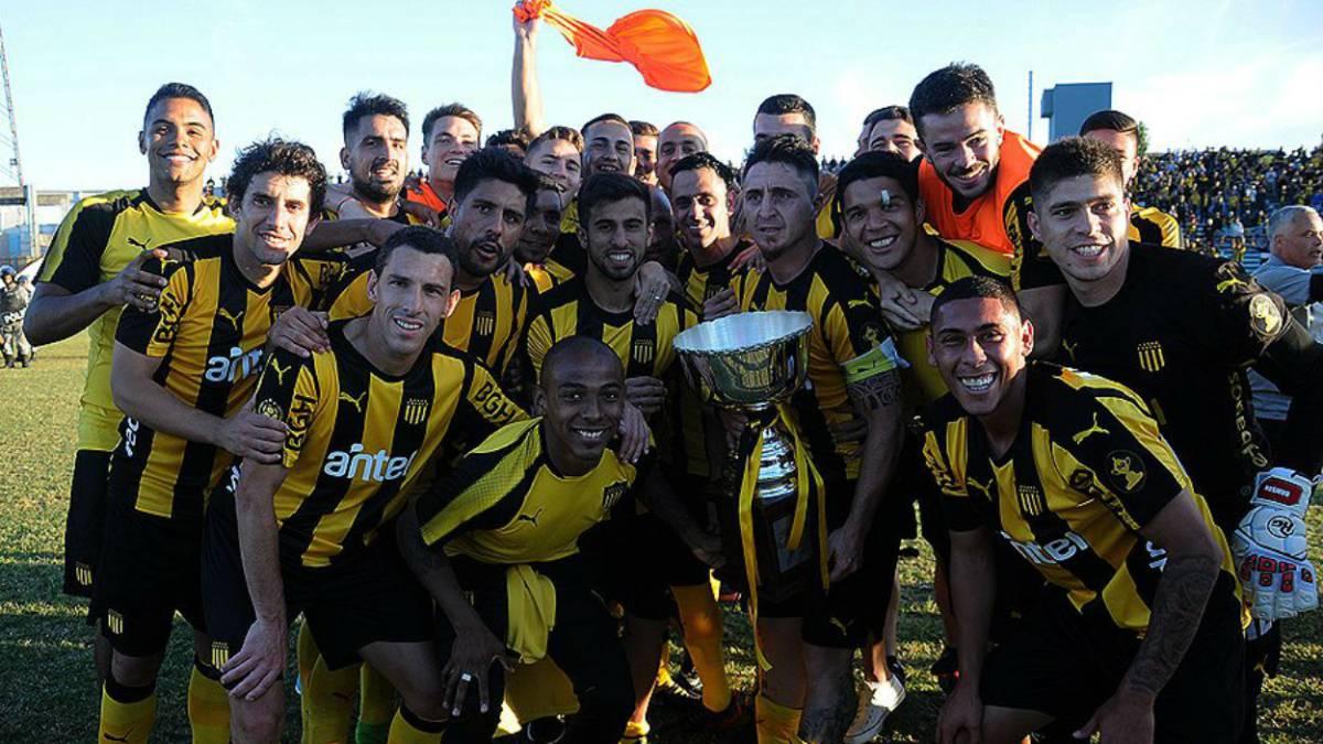 Peñarol goleó en el Troccoli y es el campeón del Clausura