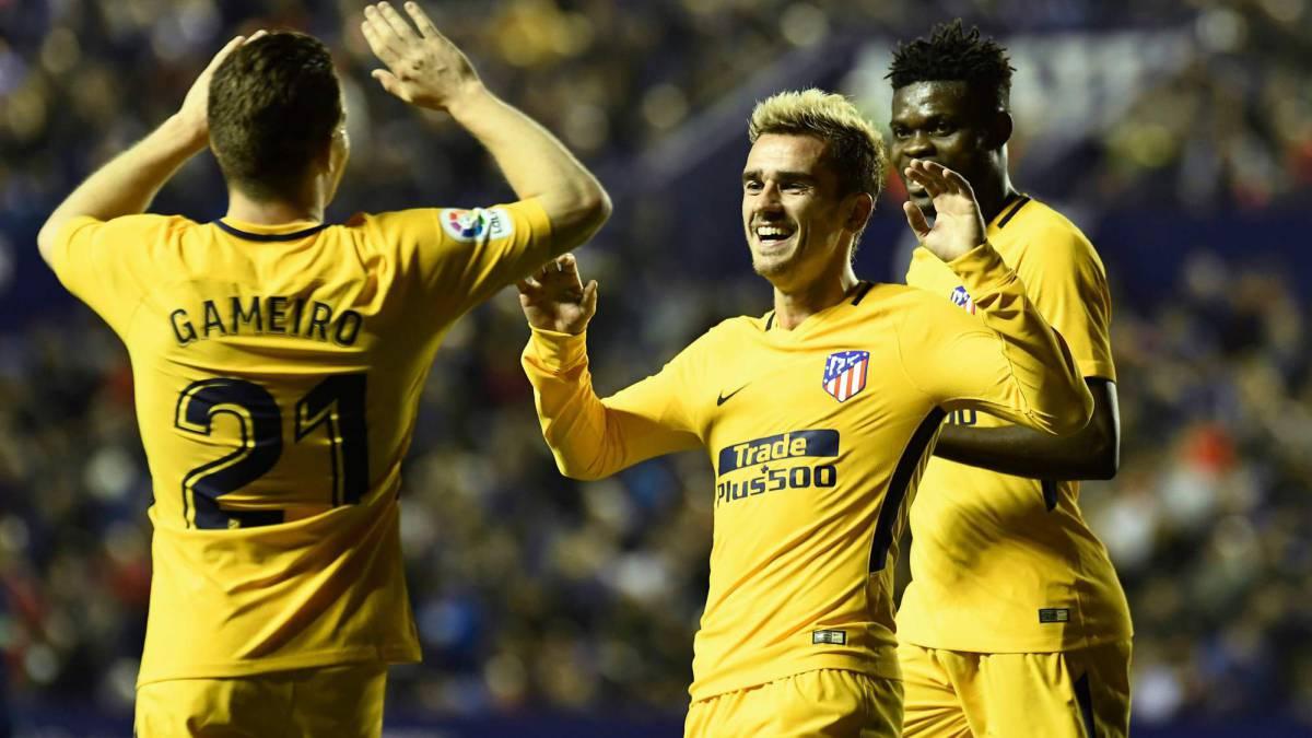 El Atlético de Madrid goleó por los franceses