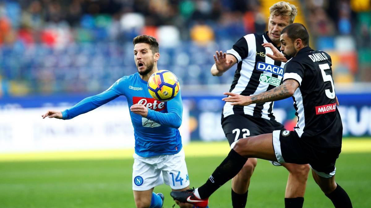 El Nápoles recupera el liderato  Roma y Milán pinchan - AS.com 287fb5d4e446f