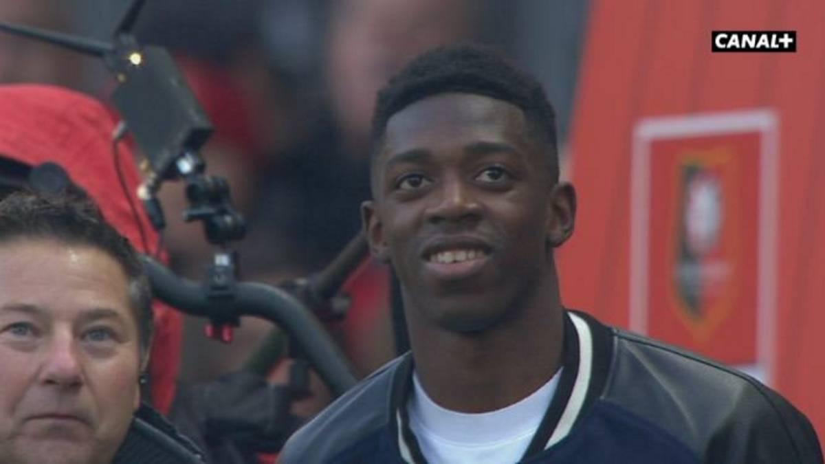 Ousmane Dembélé ya realiza trabajos con balón — Barcelona