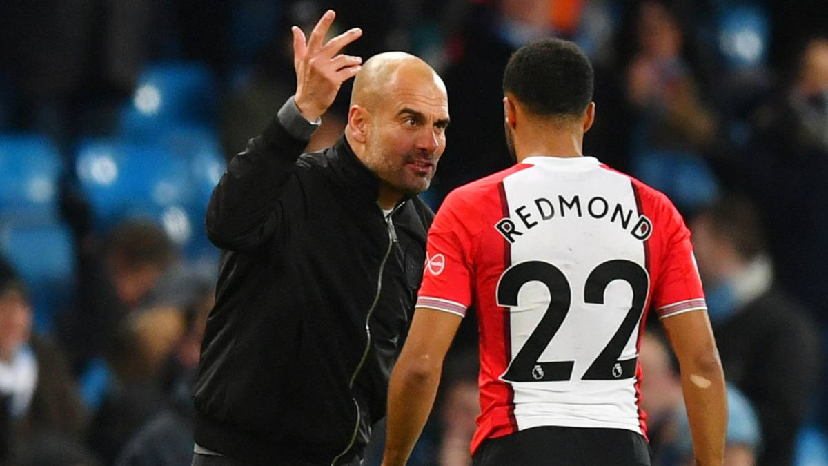 Guardiola regrets Redmond pep talk