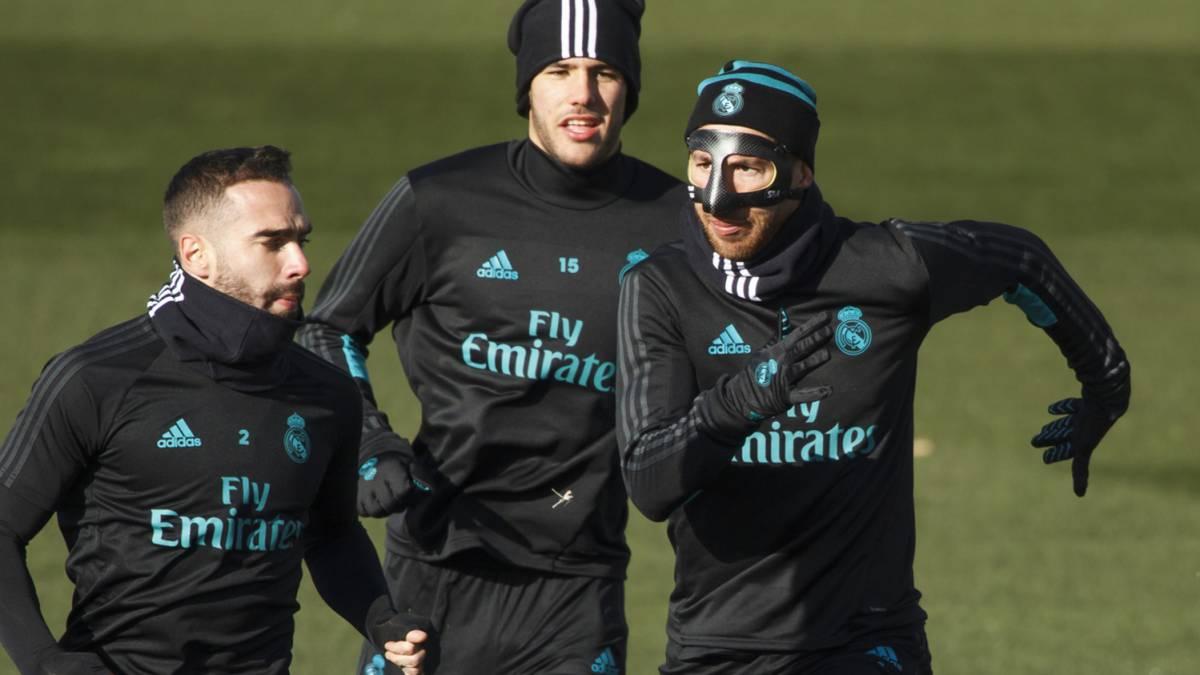 Casemiro, Ramos y Carvajal, bajas ante Sevilla — Problemas