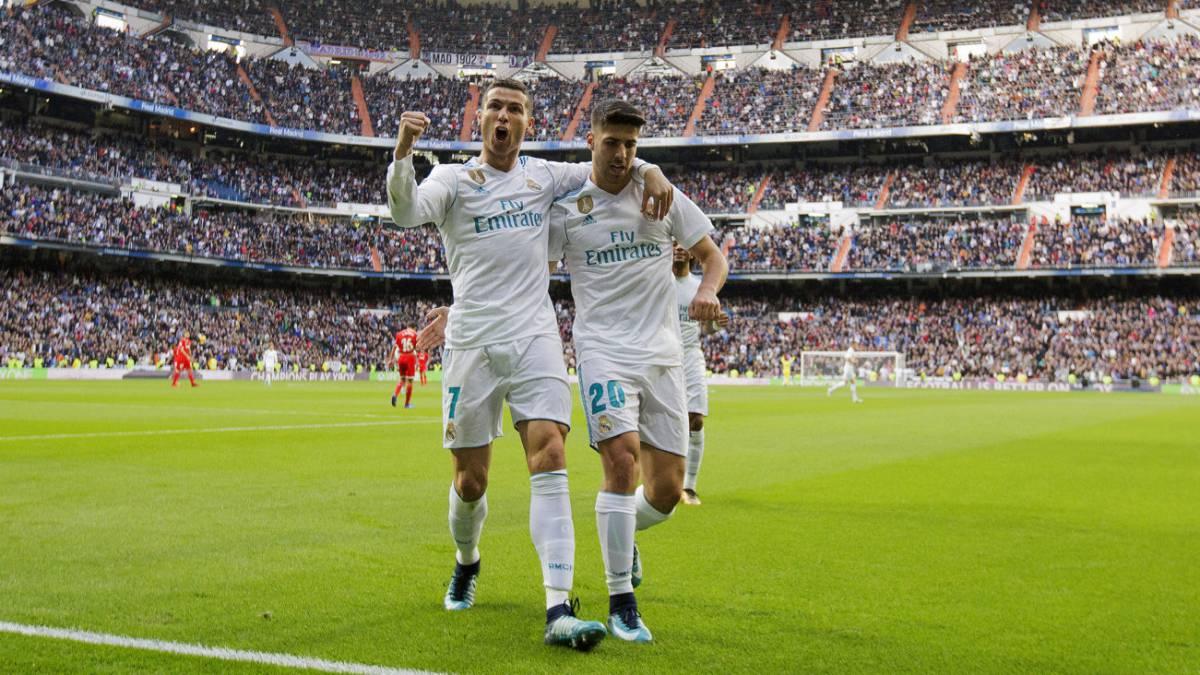 Real Madrid sin piedad  golea al Sevilla y CR7 anota doblete - AS Colombia e55b1670ede0b