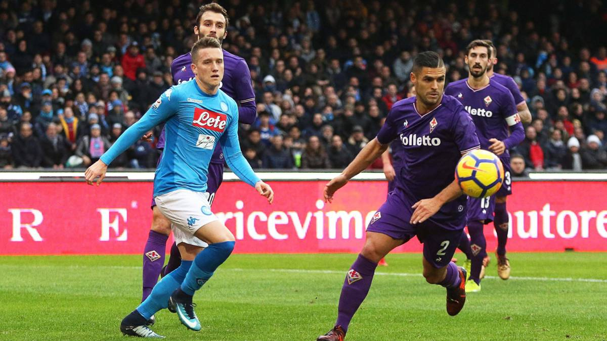 Napoli desaprovechó la chance de ser único puntero