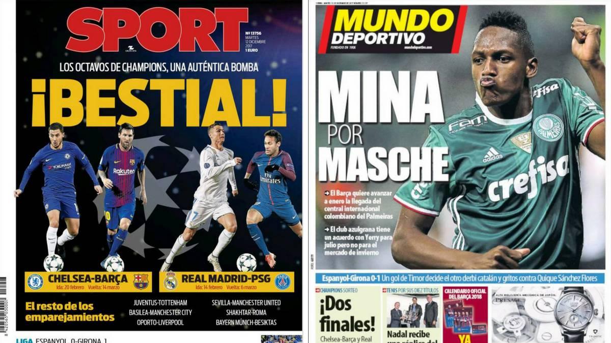 ¿Mina, el elegido para reemplazar a Mascherano en Barcelona?