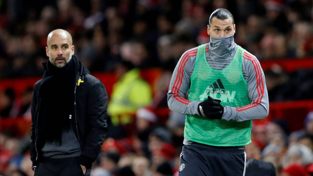 Ibrahimovic arremete contra Guardiola y le llama