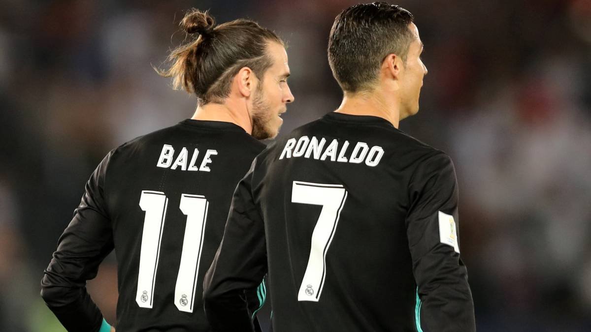 gareth bale leads the way for real madrid s bbc as com