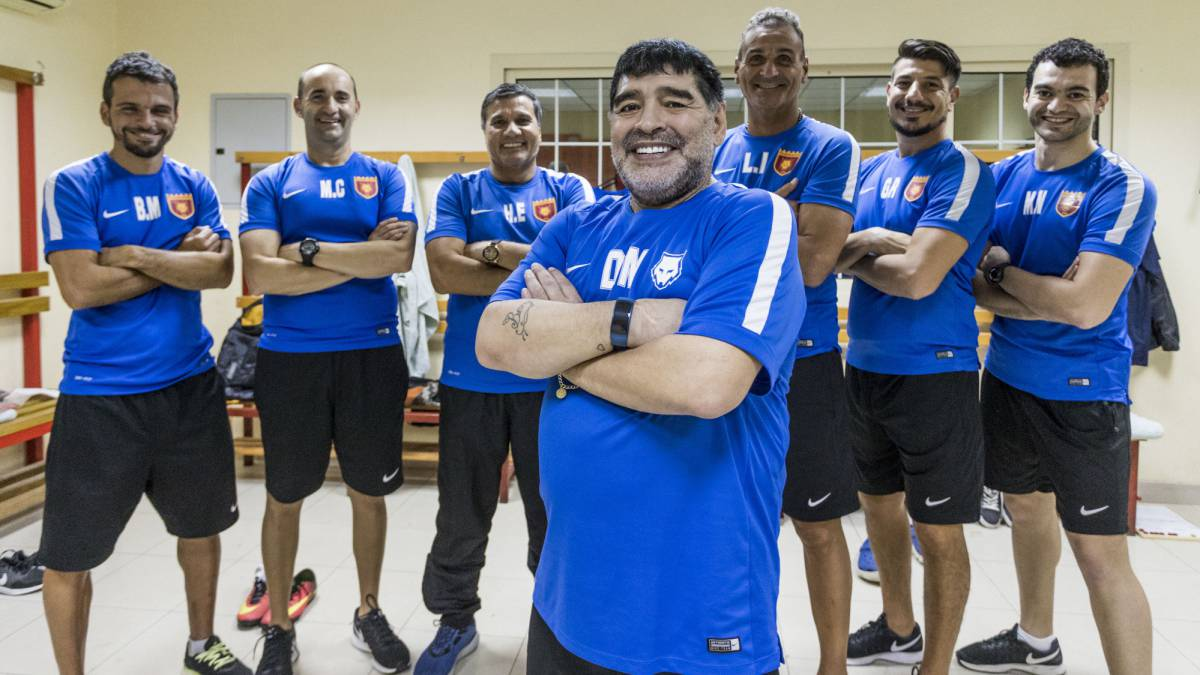 Maradona: I'd have more Ballon d'Ors than Ronaldo & Messi both