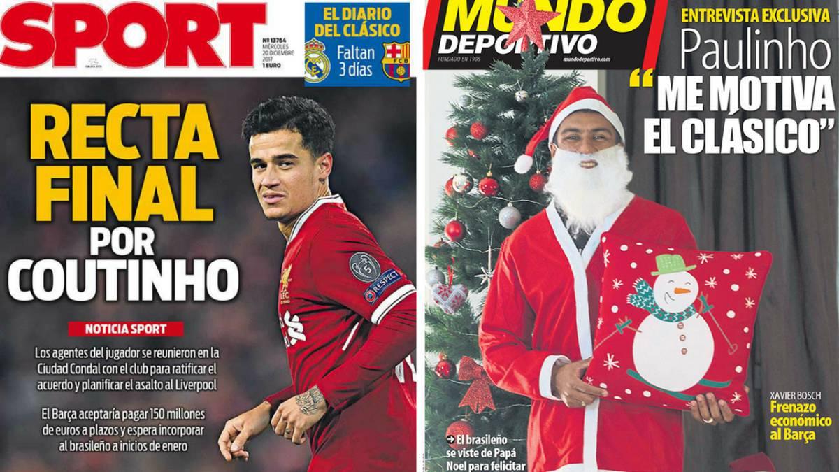 Suárez engañó a Coutinho con un regalo que parecía ser del Barcelona