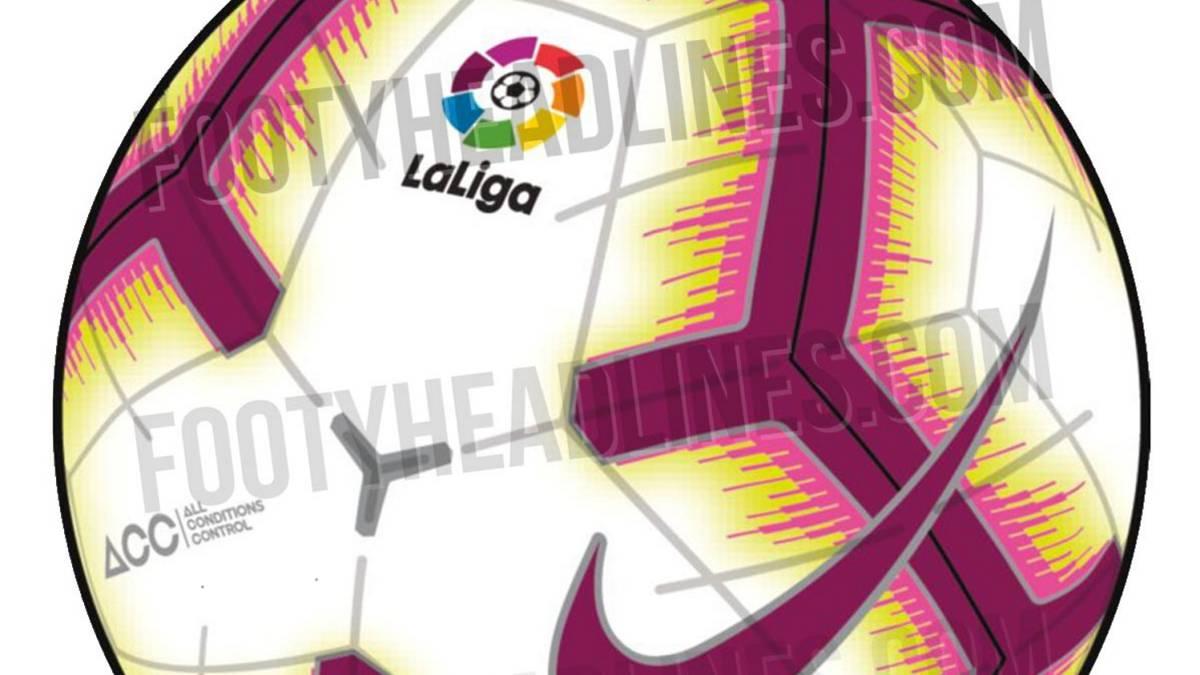 Se filtra cómo será el balón de LaLiga para la campaña 18-19 - AS.com 9300b40f8082a