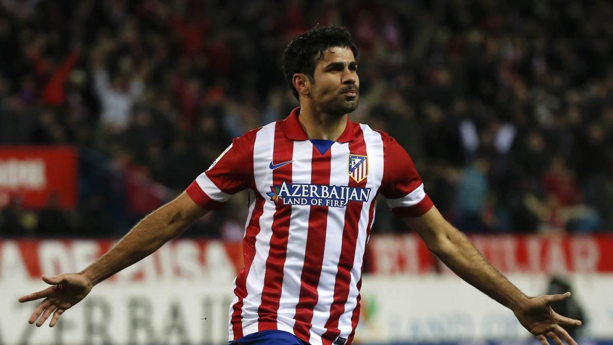 Diego Costa y Vitolo fueron presentado en el Atlético de Madrid