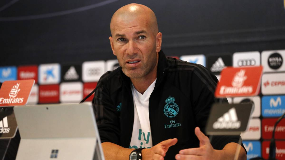 Zidane doesn't want new signings despite Madrid struggles