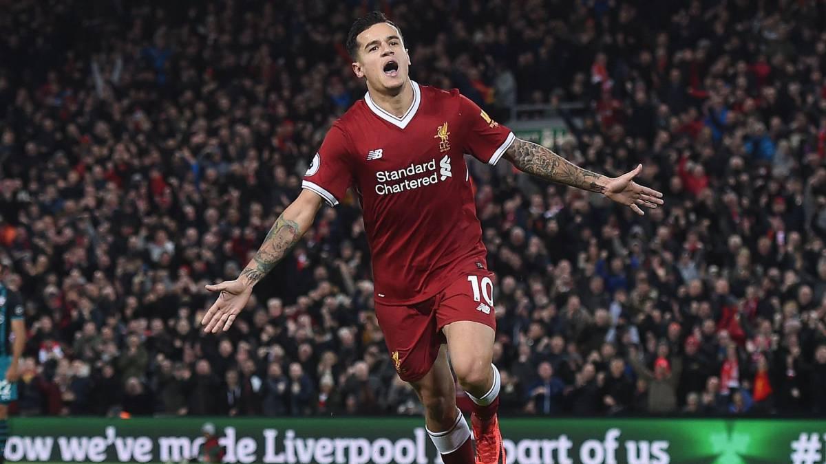 Liverpool compensa a sus hinchas tras la venta de Coutinho